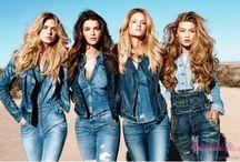 En Trend Denim-Jean-Kot Giyim / Son zamanlarda iyice moda olan ve podyumlarda da sıkça boy gösteren denim kıyafetler şıklığınıza şıklık katacak. En trend denim-jean-kot giyim sizlerle...