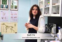 Kalbimdeki Patiler- Pati TV / Hayvanların sağlığı, bakımı, beslenmesi, eğitimi ve yaşamı hakkında birçok bilginin veteriner hekimler tarafından anlatıldığı kanal PATİ TV kalbimdekipatiler.com sitesinin farkını ortaya koyan kısımlar arasında yer alıyor.