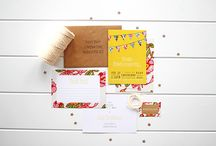 Stationery // Baby Shower Invitations