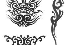 Stencil / Temporary Airbrush Tattoo