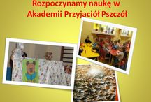 Przedszkole publiczne w Danielowicach Akademie Przyjaciół Pszczół