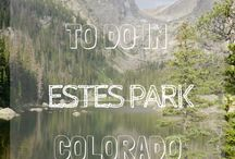 Estes Park Summer / Get excited about the summer in Estes Park with these summer activities and things to do!