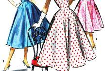 Vintage naaipatronen