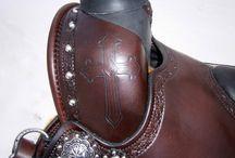 Custom Saddle Ideas.  Leather Carving and design