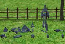 Sims 2- Servos/Robots