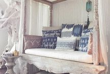 Ikat Pillows for Ethnic Home Decor