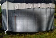 Rain water tanks
