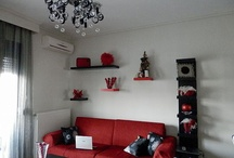 Red and Black Interior / Inspiration for my home!
