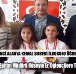 Kemal Şuberi Öğrencileri Satranç Turnuvasında Birinci Oldu