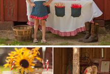 Party Ideas - Farm / Create your own farm yard birthday party with these creative and inspiring party ideas.