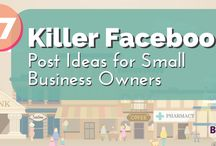 Social Media | Facebook / Social Media Facebook tips, strategies and ideas to help creative entrepreneurs and small business owners grow a  following and market their businesses.