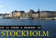 Travel to Stockholm, Sweden