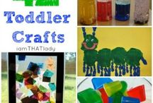 toddler crafts / by Clara Dostal
