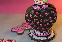 Cookies 3D by Sweet Treats by Luciana Manso / cookies 3D , dificil, mucho tiempo , pero amo hacer estas cosas.