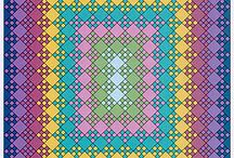 bloomin nine patch quilt