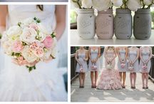 Grey and Blush weddings