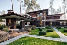 Prairie Style House