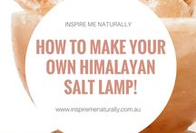 DIY Natural Remedies | Inspire Me Naturally / Our favourite DIY natural remedies to make at home using Himalayan salt, coconut oil, essential oils and more! Available to purchase online at www.inspiremenaturally.com.au - AfterPay available.