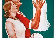 Советские плакаты - Дети и Семья / Агитационные постеры, Пропаганда в СССР