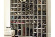 shoe storage / by Jen Hernandez Banys