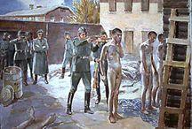 WORLD WAR II / GERMAN DEATH CAMPS
