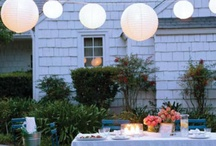 Relaxed wedding party catering