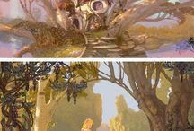 Animation art collection / Collection of art from various artists