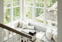 Decorating Ideas: Cozy Pillows for Windows Nooks / Use Sophia fabrics for these cozy pillows.