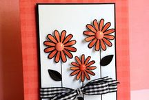 Flower cards / Cards with floral / by Jennifer Cooper