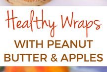 Healthy and sweet wraps
