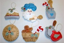 Bucilla Felt Christmas Ornaments