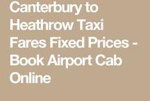Canterbury to London Heathrow Airport
