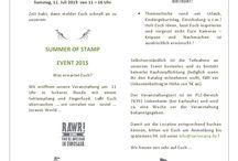 """EVENTS VON """"TANTE NANA"""" / Hier findet ihr aktuelle Termine zu Ausstellungen, Workshops & Stempelevents von www.tantenana.de !"""