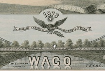 Historic Waco / Waco has a unique history - from the first skyscraper in Texas to the longest suspension bridge in 1870 and home to the Texas Rangers and Dr Pepper.