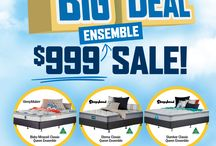 May 2017 Beds R Us Big Deal Ensemble Sale.