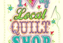 Quilt Shops / Does your local quilt shop carry pinpeddler pins and charms? If not, share our website with them: pinpeddlers.com