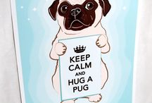 Puggie love / by Barbara Hacker