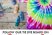Dyeing in myriad ways..