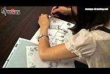 manga drawing video