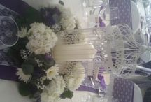 Vintage themes / Beautiful vintage inspired venue dressing