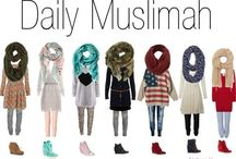 daily outfit muslimah