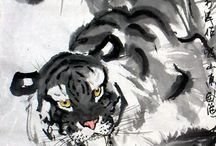 Chinese Ink - Tiger
