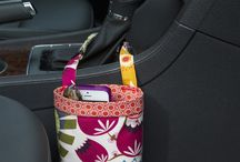 Car Cellphone Holders / Drive in style with Green Goose Car Bags Cellphone caddies!  Best gifts ever!