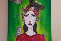 acryl on canvas