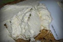 крем для тортов пломбир