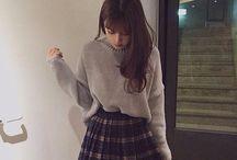 Bottom - A Line Skirt