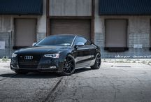 2015 Audi S5 with 20 Inch BD-1's in Matte Black / Go to www.blaquediamond.com to see our complete range