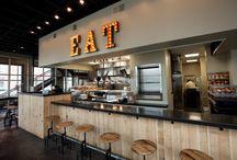 Projet - *Gorbuz / restaurant / Ambiance* / Création d'un nouveau concept de snack au centre de Bruxelles.