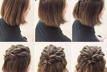 coiffure simple