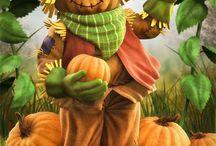 *scarecrows*